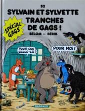 Sylvain et Sylvette -52- Tranches de gags
