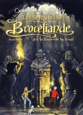 Vick et Vicky (Les aventures de) -10- Les sorcières de Brocéliande - À la recherche du graal