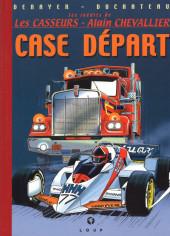 Les inédits de Les Casseurs - Alain Chevallier -1- Case départ