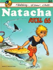 Couverture de Natacha -20- Atoll 66