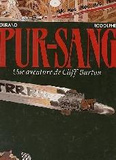 Cliff Burton (Une aventure de) -6- Pur-Sang
