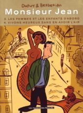 Monsieur Jean -INT2- Tomes 3 et 4