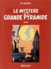Blake et Mortimer (Historique) -4TL3- Le Mystère de la Grande Pyramide - Tome 2