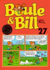 Boule et Bill -02- (Édition actuelle) -27- Boule & Bill 27