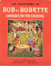 Bob et Bobette -3- Lambique roi des éburons