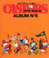 (Recueil) Castors juniors magazine -6- Album N° 6