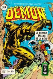 Démon (1re Série - Arédit - Comics Pocket) -2- Le dernier spasme de la bête