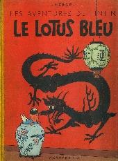 Tintin (Historique) -5B07- Le lotus bleu