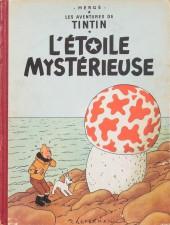 Tintin (Historique) -10B09- L'étoile mystérieuse