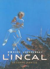 Couverture de L'incal - Une aventure de John Difool -INT02- Seconde partie