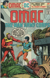 Omac (1974) -8- One man army corps