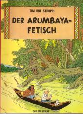 Tim und Struppi / Tim, der Pfiffige Reporter -6a1997- Der Arumbaya-Fetisch