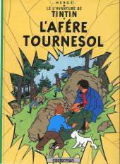 Tintin (en langues régionales) -18Gruérien- L'afère Tournesol