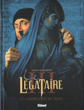 Le décalogue - Le Légataire -3- Le labyrinthe de Thot