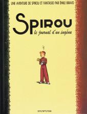 Spirou et Fantasio (Une aventure de.../Le Spirou de...) -4- Le journal d'un ingénu