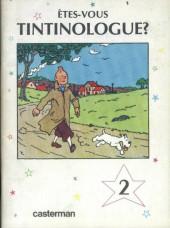 Tintin - Divers -41a- Êtes-vous tintinologue ? (2)
