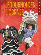 Le moine fou -9- Le tournoi des licornes