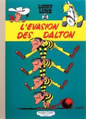 Lucky Luke -15TL- L'évasion des Dalton