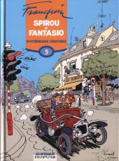 Spirou et Fantasio -6- (Int. Dupuis 2) -5- Mystérieuses créatures (1956-1958)