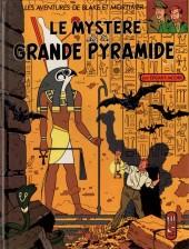 Blake et Mortimer (Les Aventures de) -4b1990- Le Mystère de la Grande Pyramide - Tome 1