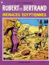 Robert et Bertrand -47- Menaces égyptiennes