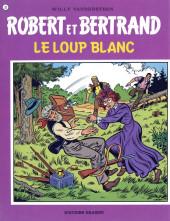 Robert et Bertrand -37- Le loup blanc