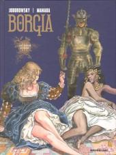 Borgia (Jodorowsky/Manara) -3- Les Flammes du Bûcher