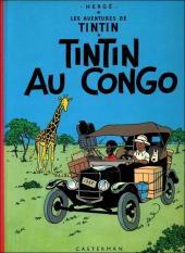 Tintin (Historique) -2C3- Tintin au Congo