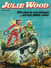 Julie Wood -6- Un ours, un singe...et un side-car