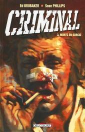 Criminal -3- Morts en sursis