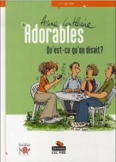 Adorables -3- Qu'est-ce qu'on disait ?