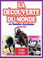 La découverte du monde en bandes dessinées -INT08- À l'assaut des Pôles - La conquête de l'espace