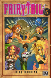 Fairy Tail -5- Tome 5