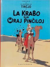 Tintin (en langues étrangères) -9Espéranto- La krabo kun oraj pinĉiloj