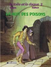Toile et la dague (la) -2- La nuit des poisons