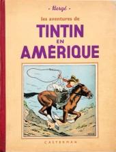 Tintin (Historique) -3A08- Tintin en Amérique