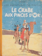 Tintin (Historique) -9A23Bis- Le crabe aux pinces d'or