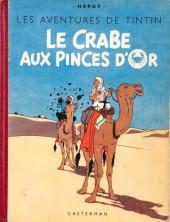 Tintin (Historique) -9A18- Le crabe aux pinces d'or