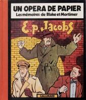 (AUT) Jacobs, Edgar P. -3- Un opéra de papier - Les mémoires de Blake et Mortimer
