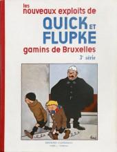 Quick et Flupke -2- (Casterman, N&B) -3- Quick et Flupke gamins de Bruxelles (3e série)