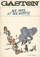 Gaston (Hors-série) -Pir- Des pafs et des gaffes