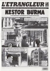 L'Étrangleur - Nestor Burma -1- L'envahissant cadavre de la Plaine Monceau