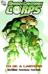 Green Lantern Corps (2006) -INT01- To Be A Lantern