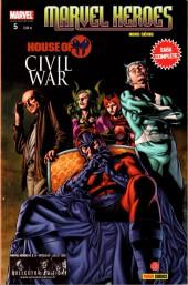 Marvel Heroes Hors Série (Marvel France - 2008) -5- Civil War : House of M