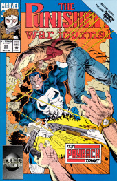 Punisher War Journal Vol.1 (Marvel comics - 1988) -49- Walk through fire part 2 : a gun fight