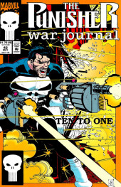 Punisher War Journal Vol.1 (Marvel comics - 1988) -42- Ten to one