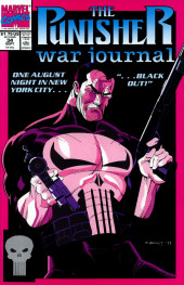 Punisher War Journal Vol.1 (Marvel comics - 1988) -34- Blackout