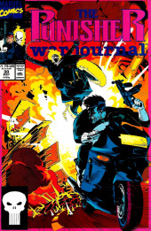 Punisher War Journal Vol.1 (Marvel comics - 1988) -30- Spin cycle