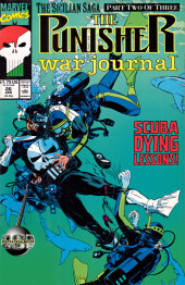 Punisher War Journal Vol.1 (Marvel comics - 1988) -26- The sicilian saga part 2 : cry uncle