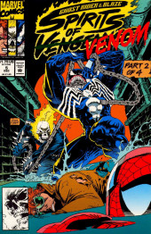 Ghost Rider/Blaze: Spirits of Vengeance (Marvel - 1992) -5- Spirits of Venom part 2 : chasing shadows